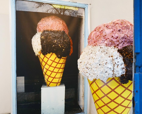 Budapest Windows @ PUCCS: Das Eisstanitzel - A Fagyi (Foto: © Martin Frey)