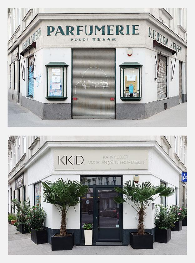 Parfümerie Poldi Tesar - KKiD Karin Kübler Design - © Martin Frey